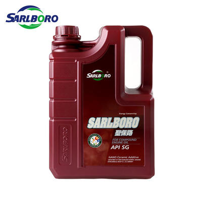 Sarlboro motor oil synthetic lubricants SG SAE 5W30 10W30 15W40 20W50 motor oil