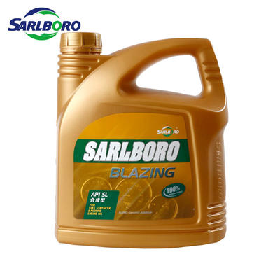 Sarlboro popular and high quality SL synthetic gasoline engine oil 5w30