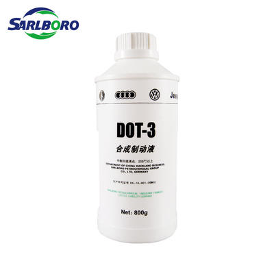 Sarlboro brand OEM&ODM automotive oil DOT-3 synthetic brake fluid