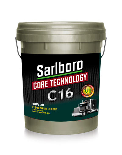 C16 fully synthetic super long protection 150000 kilometer E9 CK-4 10W30 18L packed engine lubricant oil