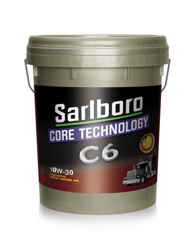 SARLBORO high performance C6 fully synthetic E7 CJ-4 diesel engine oil SAE10w30