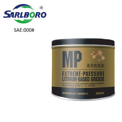 SARLBORO high performance product, 000# MP multipupose lithium base grease.